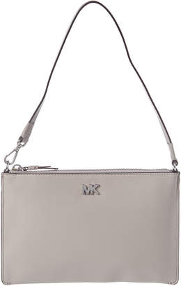 MICHAEL Michael Kors Convertible Leather Clutch