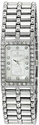 Croton Women's CN207536SSMP Analog Display Quartz Silver Watch