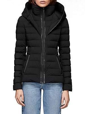 Mackage Women's Andrea Hooded Down Puffer Jacket