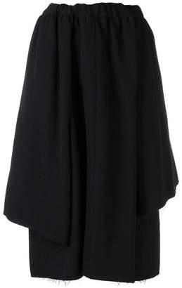 Comme des Garcons asymmetric midi skirt