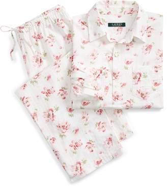 Ralph Lauren Floral Dobby Pajama Set