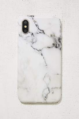 Urban Outfitters White Marble iPhone X Case