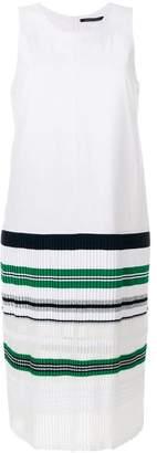 Valenti Antonino striped hem dress