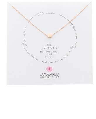 Dogeared The Circle Slide Pendant Necklace