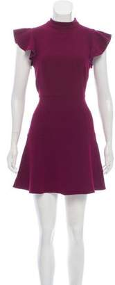 Rachel Zoe Cap Sleeve Mini Dress
