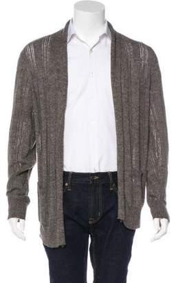 AllSaints Knit Open Front Cardigan