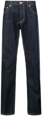 Alexander McQueen piped trim detail jeans