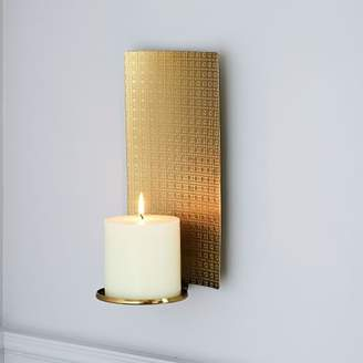 west elm Textured Metal Wall Sconce