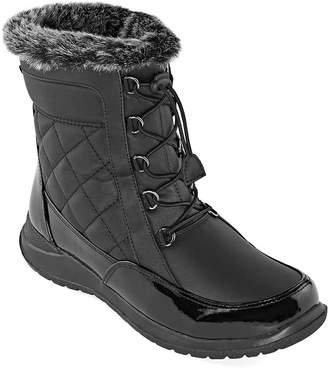 totes Womens Poppy Waterproof Insulated Winter Boots