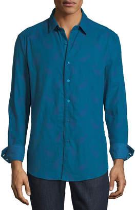 Robert Graham Men's Wayfarer Paisley-Jacquard Sport Shirt