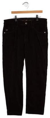 Eddie Pen Boys' Corduroy Straight-Leg Pants brown Boys' Corduroy Straight-Leg Pants