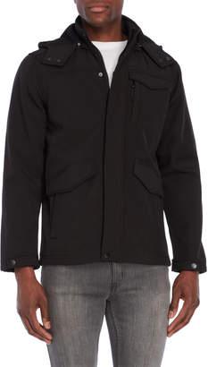 Ben Sherman Removable Hood Softshell Jacket