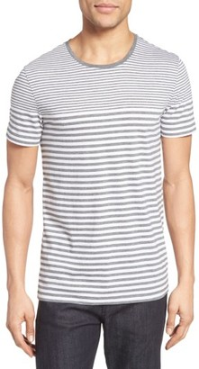 Men's Boss Tessler Slim Fit Stripe T-Shirt $95 thestylecure.com