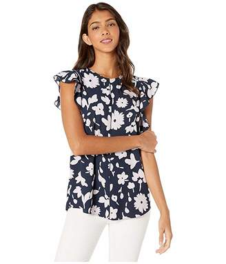 Kate Spade Splash Flutter Sleeve Top