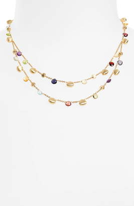 Marco Bicego Paradise Semiprecious Stone Double Strand Necklace