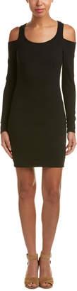 Chaser Cold-Shoulder Sheath Dress