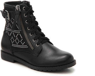 Report Hannah Toddler & Youth Combat Boot - Girl's