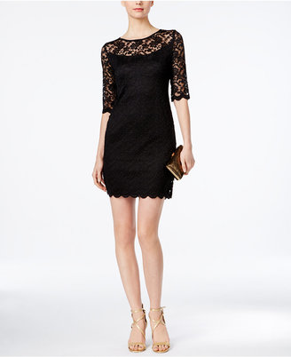 Connected Illusion Lace Sheath Dress $89 thestylecure.com
