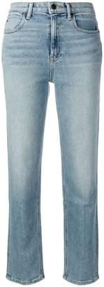 Alexander Wang cropped straight leg jeans