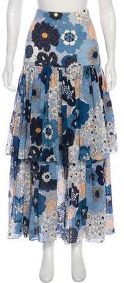 Chloé Floral Maxi Skirt w/ Tags