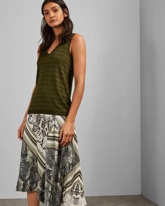 Ted Baker LEYSINI Knitted sleeveless tank top