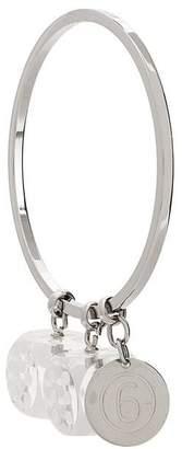 MM6 MAISON MARGIELA perspex dice charm bracelet