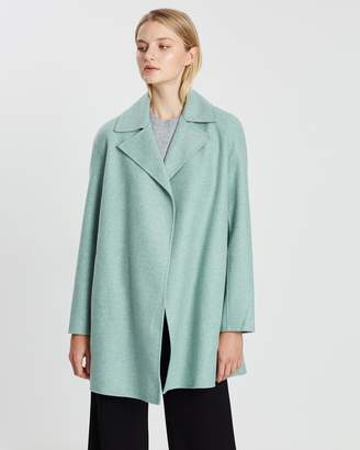 Theory Overlay Double-Faced Coat