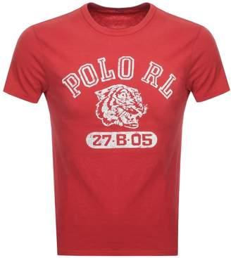 Ralph Lauren Crew Neck T Shirt Red
