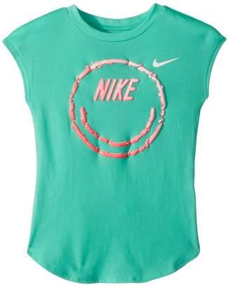 Nike Liquid Smiley Short Sleeve Tee Girl's T Shirt