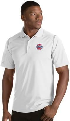 Antigua Men's Detroit Pistons Merit Polo