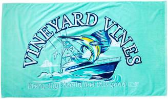 Vineyard Vines Sport Fisher Beach Towel