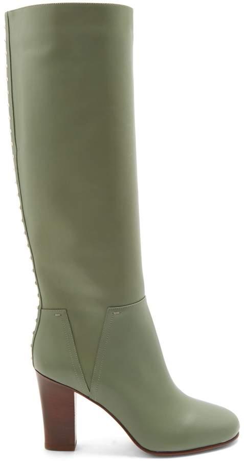 VALENTINO Lovestud Rockstud leather boots