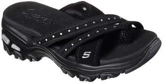 Skechers D'Lites Womens Wedge Sandals