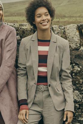 Long Tall Sally Striped Sleeve Sweater
