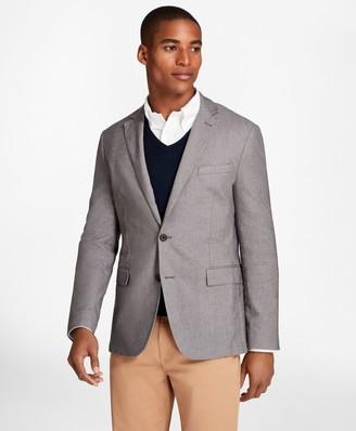 Brooks Brothers Heathered Stretch Cotton Twill Sport Coat