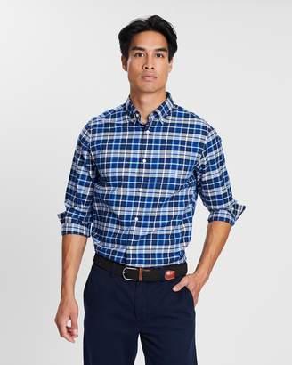 Gant Winter Twill Plaid Shirt
