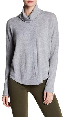 Cullen Flyaway Mock Neck Sweater