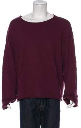 Undercover 2017 Oversized Pouch Pocket Sweatshirt
