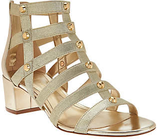 Marc Fisher Gladiator Block HeelSandals - Julee