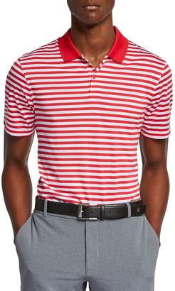 Nike Victory Striped Dri-Fit Golf Polo