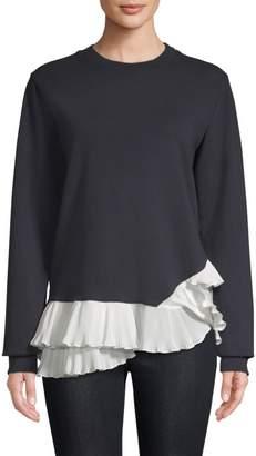 Clu Pleted Knit Swetshirt