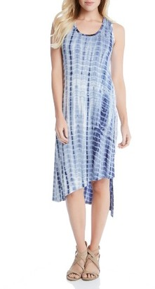 Women's Karen Kane Stevie Print Jersey Asymmetrical Tank Dress $138 thestylecure.com