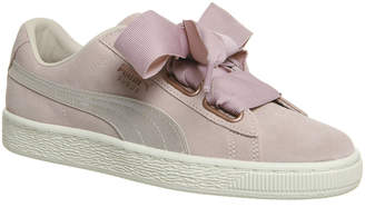 40a12122f162 at Office · Puma Suede Heart Trainers