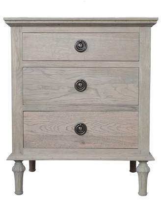 S & G Imports Emma Bedside Table