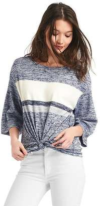 Softspun knit front-tie top $49.95 thestylecure.com
