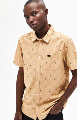 RVCA Aye Kat Short Sleeve Button Up Shirt