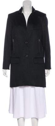 Veronica Beard Cashmere Long Sleeve Coat