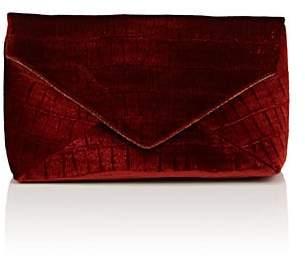 Dries Van Noten Women's Embossed Velvet Clutch