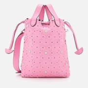 Meli-Melo Women's Hazel Daisy Laser Cut Bag - Peony Pink