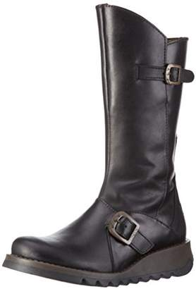 f392c66c446b Fly London Black Boots For Women - ShopStyle UK